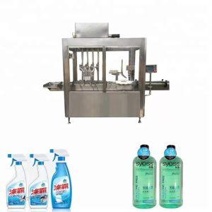 304 स्टेनलेस स्टील प्लास्टिकची बाटली भरणे आणि कॅपिंग मशीन