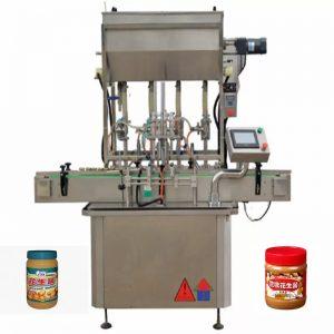 4 नोजल्स मध बाटली भरण्याचे यंत्र