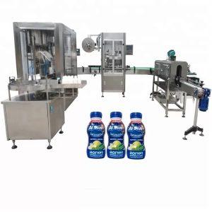 6 हेड नोजल सॉस बाटली भरणे मशीन
