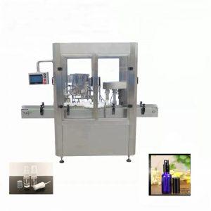 अॅल्युमिनियम वायल स्प्रे बाटली भरणे मशीन