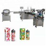 10 मिली / 30 मिली ग्लास बाटली ड्रॉपरसाठी 5-35 बाटल्या / मिनिट स्वयंचलित लिक्विड फिलिंग मशीन