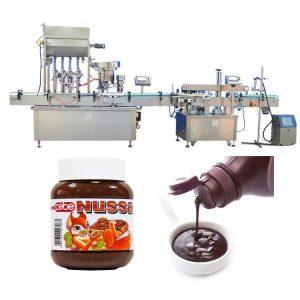 स्वयंचलित टोमॅटो सॉस बाटली भरणे मशीन 10 मि.ली.
