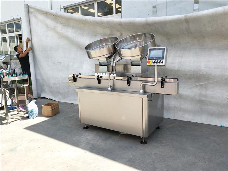 स्वयंचलित स्टेनलेस स्टील पिल कॅप्सूल टॅब्लेट मोजणी भरणे मशीन 2