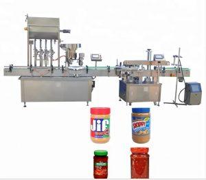 रंग टच स्क्रीन बाटली कॅपिंग मशीन