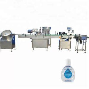 दोन फिलिंग हेडसह ड्रॉपर बाटली भरण्याचे मशीन