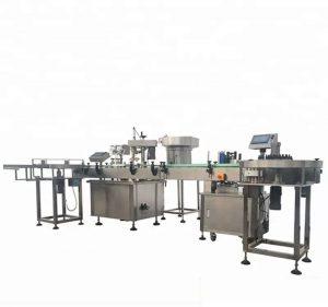 उच्च क्षमता स्वयंचलित बाटली भरणे आणि कॅपिंग मशीन