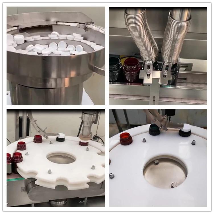 एनपी-एसएल 60 डबल हेड मोजणीच्या गोळ्या मशीन बाटलीबंद कॅप्सूल फिलर