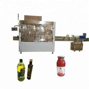पीएलसी कंट्रोल पीईटी बाटली भरणे आणि कॅपिंग मशीन