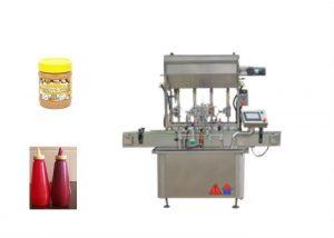 अर्ध - लिक्विड सॉस पेस्ट बाटली भरणे मशीन