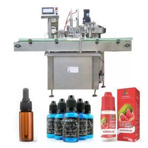 सीमेंस पीएलसी कंट्रोल ऑइल बॉटल भरणे मशीन