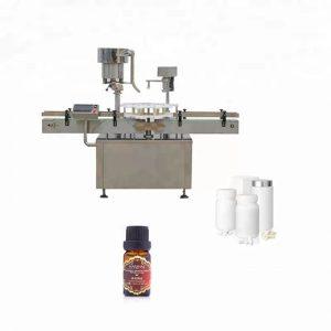 औषधामध्ये स्टेनलेस स्टीलची बाटली कॅपिंग मशीन वापरली जाते
