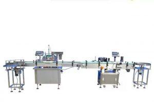 टच स्क्रीन नेल पॉलिश फिलिंग मशीन
